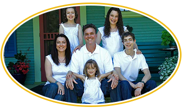 Owner & His Family, Painting Contractor in Newberg, OR