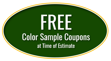 Free Color Sample Coupons at Time of Estimate
